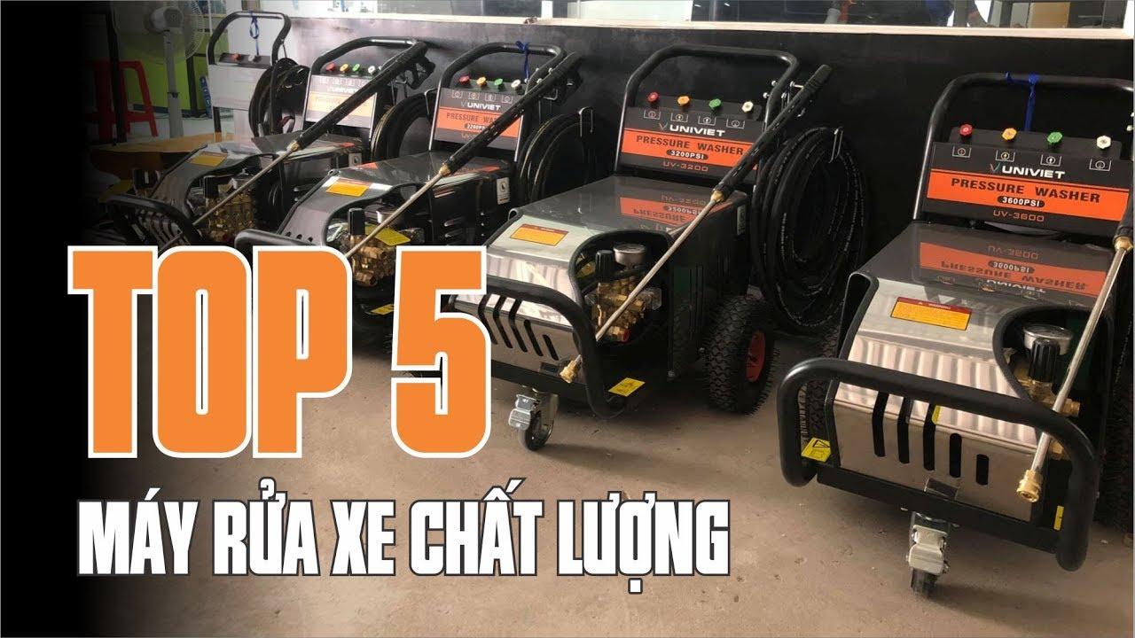 Các loại máy rửa xe chuyên nghiệp | Top 5 loại máy rửa xe chất lượng - univiet.com.vn
