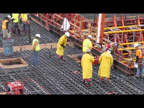 2014 Morley Construction Concrete Pour