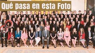 DONALD TRUMP Y LA FOTO DE LOS BECARIOS EN LA CASA BLANCA