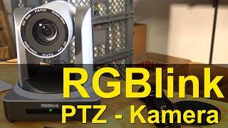 RGBLink PTZ Camera mit 20fachen optischen Zoom