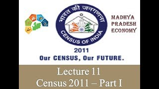 Mission MPPSC - L11 MP Economy lecture on Census of MP  2011 IIEnglishII