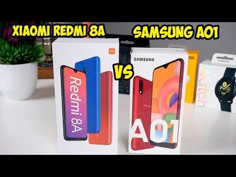 Xiaomi Redmi 8A VS Samsung A01 подробное сравнение