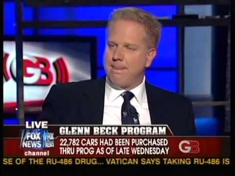 Cash For Clunkers >> Glenn Beck - Cash For Clunkers - Glenn Beck Says Cash For Clunkers Is Government Conspiracy ...
