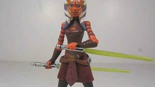 Star Wars The Clone Wars CW44 Ahsoka Quick Review
