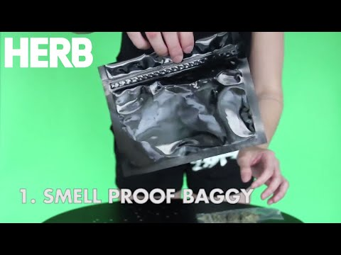 How To Hide The Smell Of Weed - HERB Video