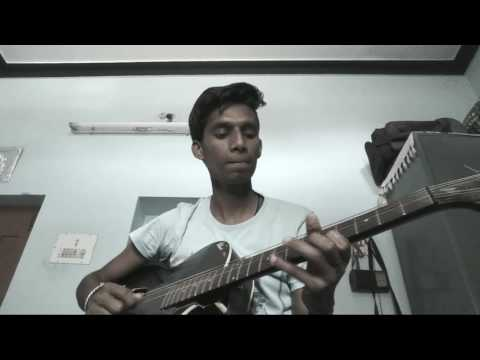 Arya 2 uppenantha guitar tune in one E string