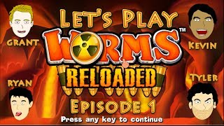 Worms Reloaded Episode 1: Multiplayer Let's Play