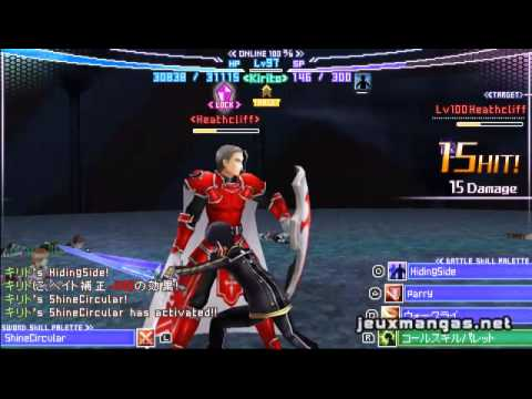 Sword Art Online Infinite Moment Psp English Gameplay Youtube