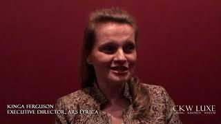 Kinga Ferguson  Executive Director, Ars Lyrica
