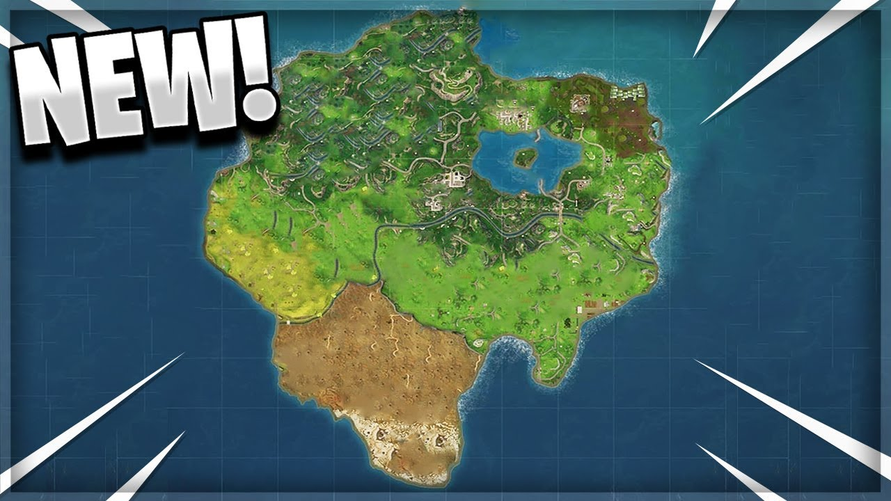 New Season 5 Map Leaked All New Locations Coming To Fortnite Season