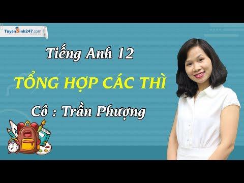 Bài tập Tổng hợp 12 thì - Luyện thi THPTQG môn Anh – cô Trần Phượng