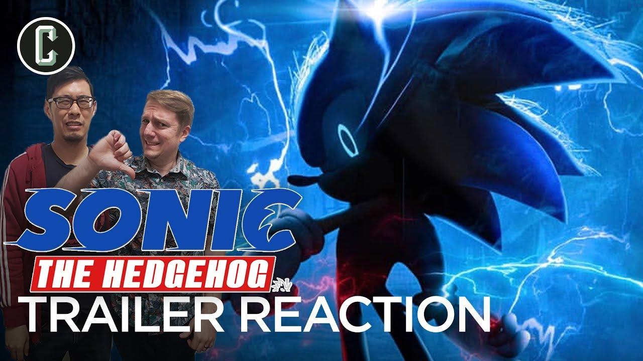 Sonic The Hedgehog Trailer Reaction Youtube