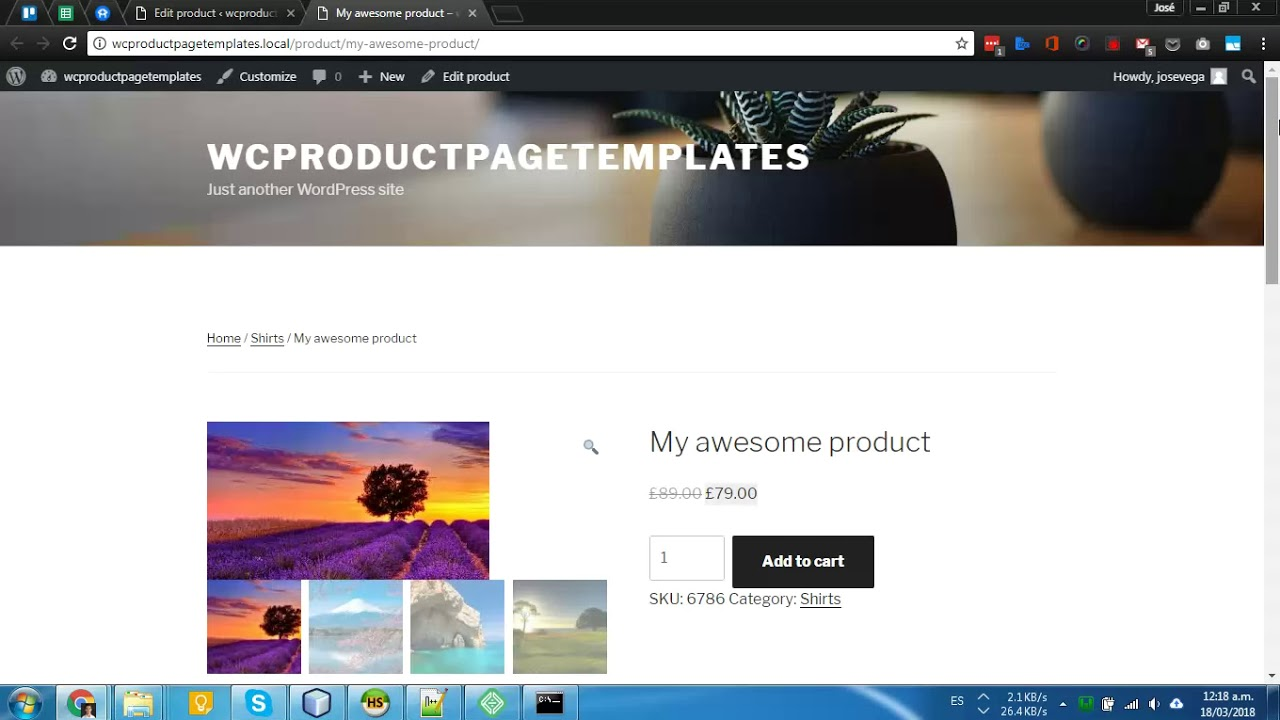 WooCommerce Product Page Templates Free WordPress Plugin YouTube - Wordpress site templates free