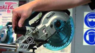 Makita Bls713 18v Li-ion Slide Compound Mitre Saw