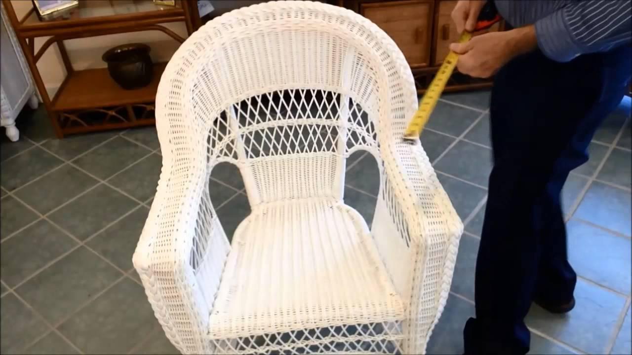 Wicker Patio Furniture Replacment Cushions Youtube