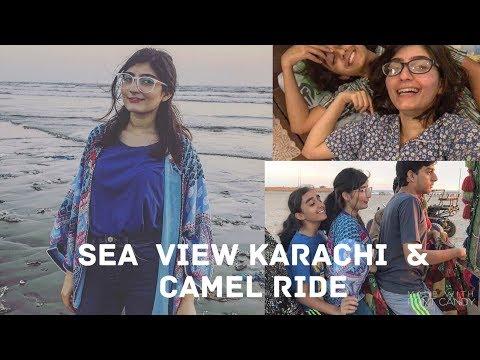 Karachi Sea View, Bob Haircut Transformation & Romwe clothing Review| Anushae Says