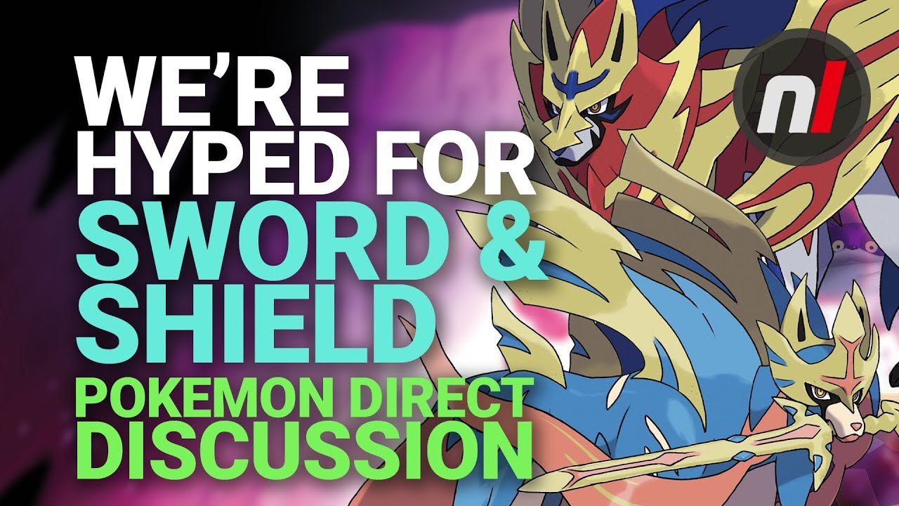 We Admit It We Re Hyped About Pokemon Sword And Shield Now Youtube