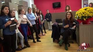 Vizita elevi Colegiul Cuza la Monitorul de Vrancea