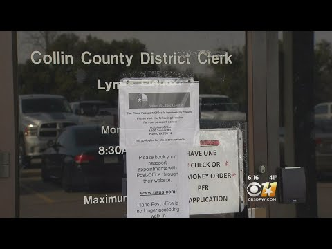Still Unclear When Collin County Passport Office Will Reopen