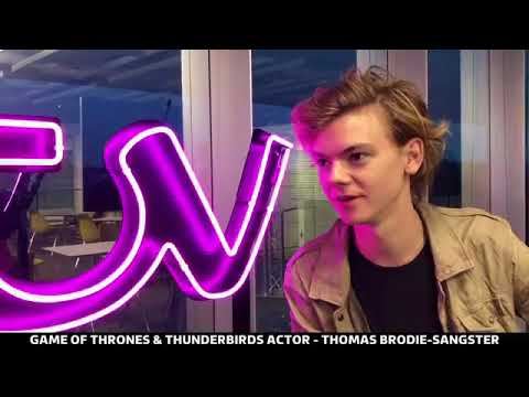 Thomas BrodieSangster last live ed by ITV London