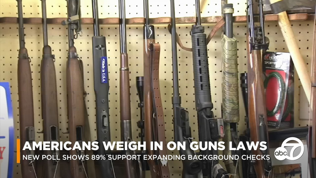 6 in 10 fearful of mass shooting; majority support expanded background checks, poll finds | ABC7