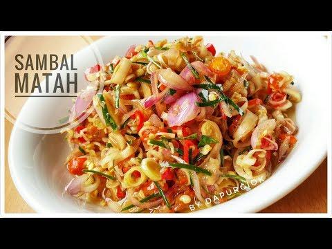 Sambal Matah Khas Bali - Resep dan Cara Membuat Sambal Matah Bali