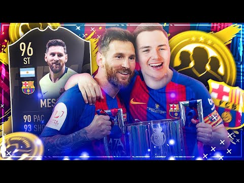 FIFA 19: IF 96 MESSI SQUAD BUILDER BATTLE vs TISI SCHUBECH 😂