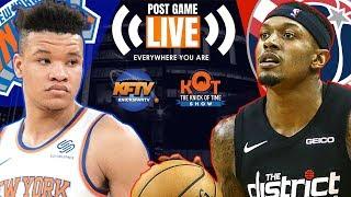 New York Knicks vs. Washington Wizards: Highlights, Analysis & Caller Reactions 📞| 10.7.19