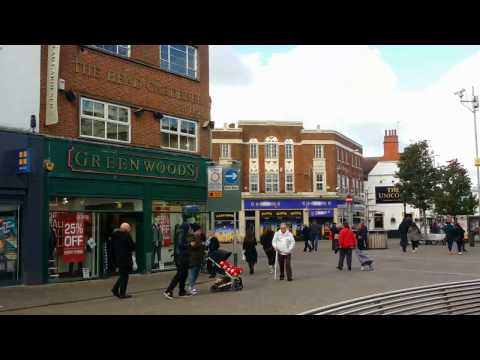 Loughborough Town Centre - Video Preview (Loughborough, Engl
