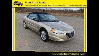 Salit Auto Sales - 2006 Chrysler Sebring Limited convertible in Edison, NJ