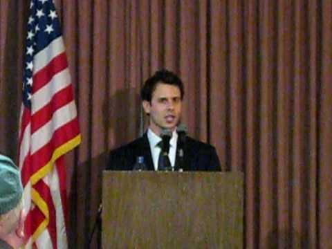 Ryan Bucchianeri with local Democrats