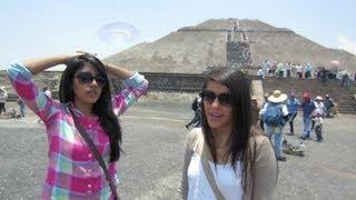 Subiendo piramides en Teotihuacán | Los Polinesios Vlog