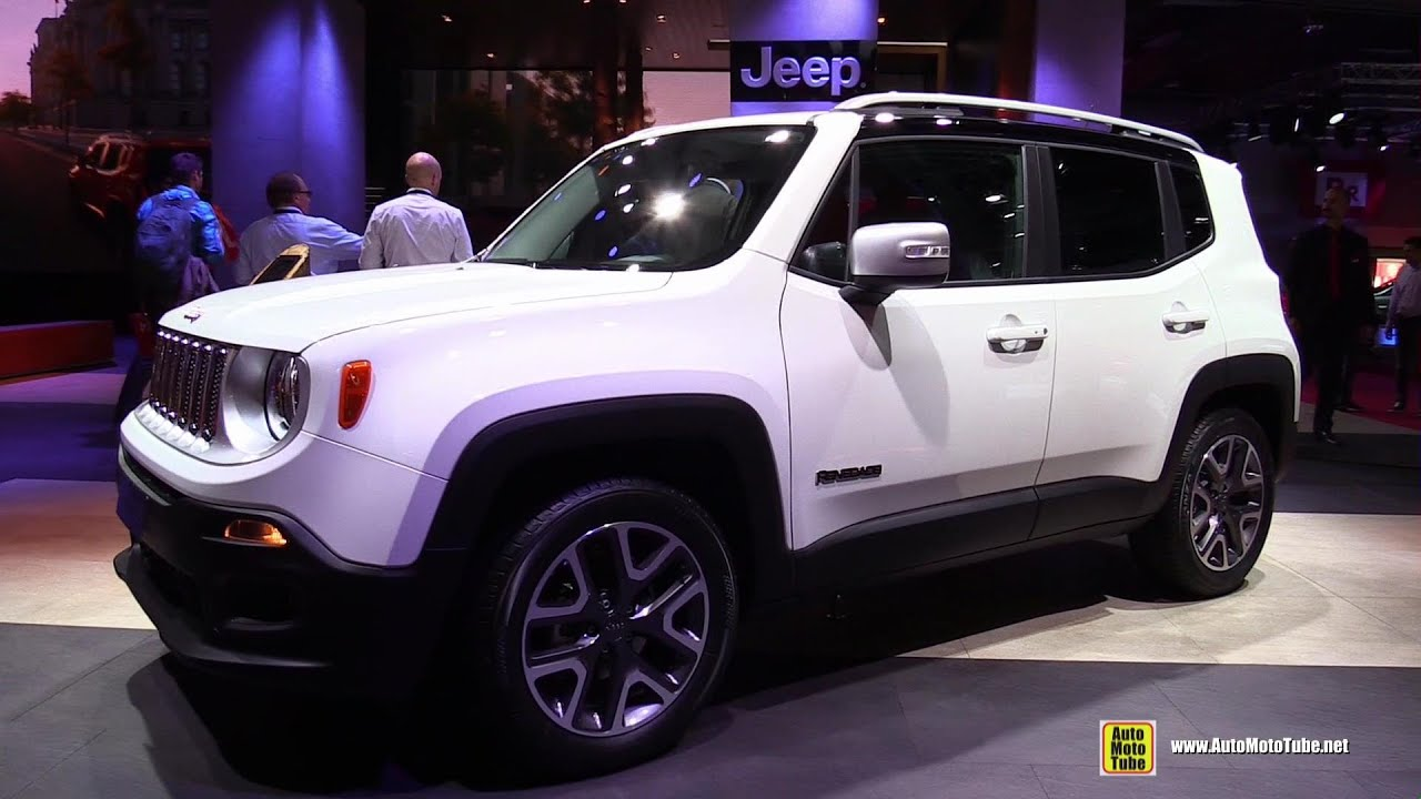 2015 Jeep Renegade Diesel Limited - Exterior and Interior Walkaround ...