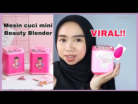 Mesin cuci mini Beauty Blender riview by linaruslani