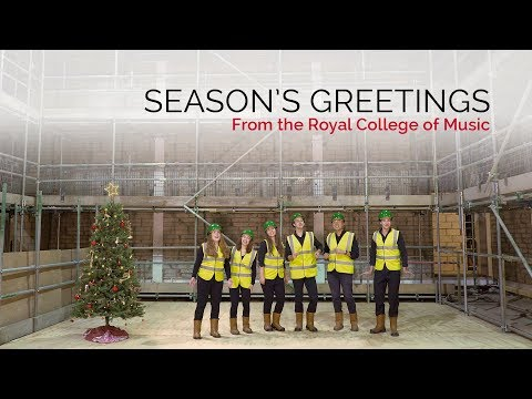 Season's Greetings from the Royal College of Music 2018