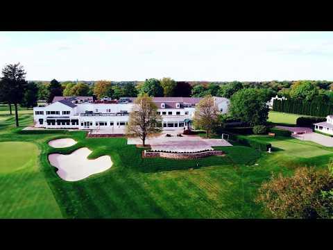 Glen Head Country Club, Long Island New York - Aerial New York