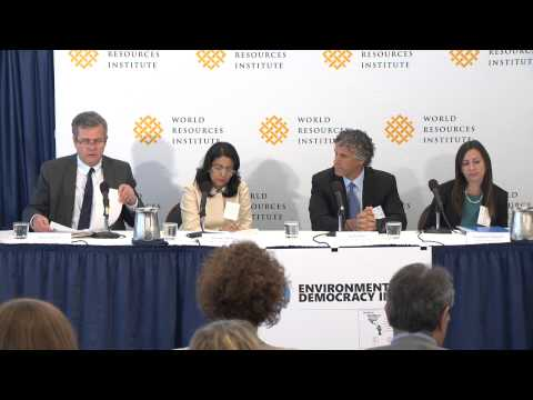 Environmental Democracy Index Launch