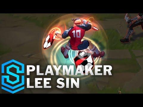 Playmaker Lee Sin Skin Spotlight - League of Legends