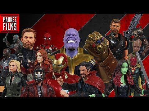 Avengers: INFINITY WAR Stop Motion Film [Phase 1]
