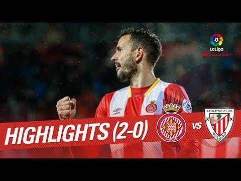 Resumen de Girona FC vs Athletic Club (2-0)