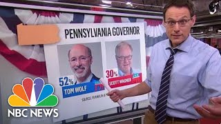 Steve Kornacki Breaks Down Key Midterm Governor's Races | NBC News