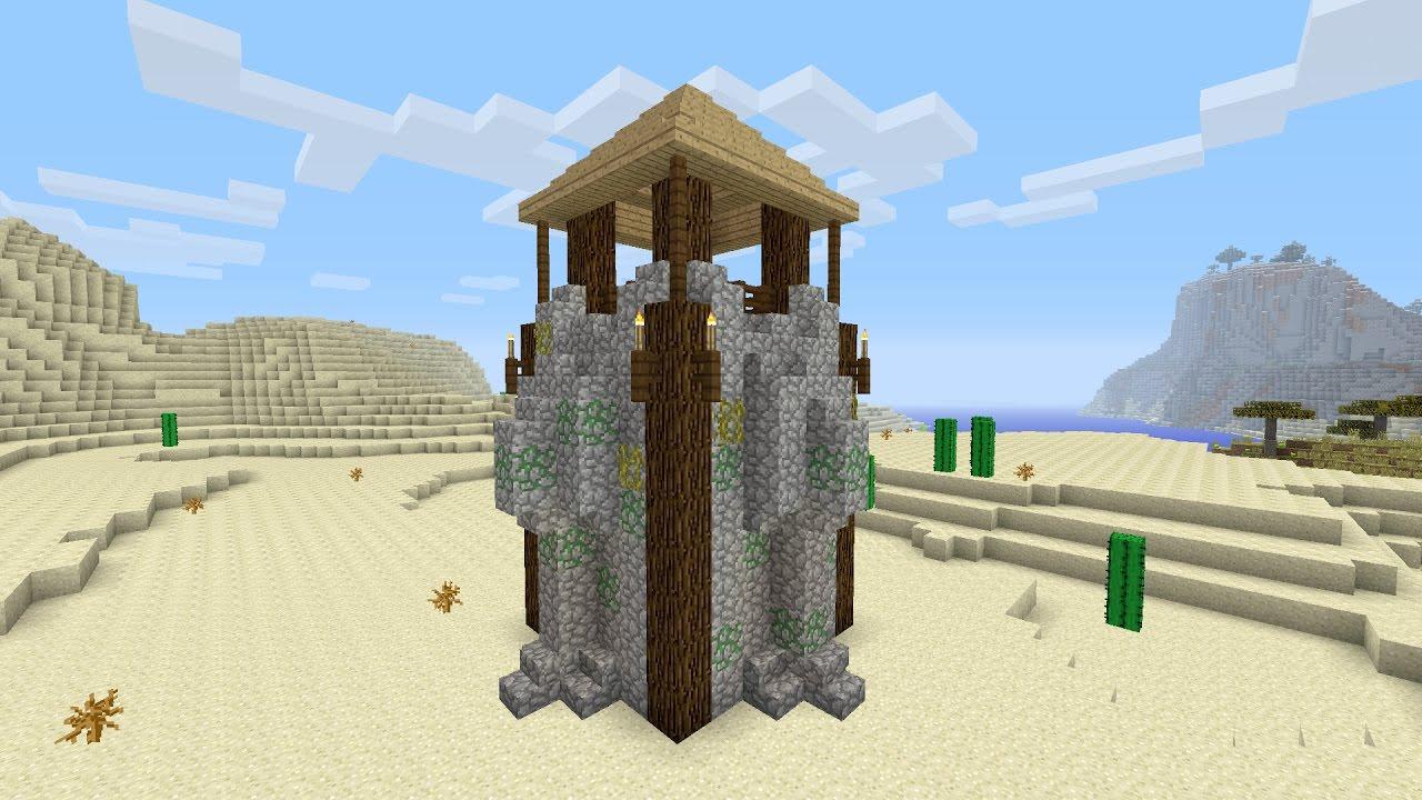 Top Minecraft een kasteel toren maken - YouTube #TE69