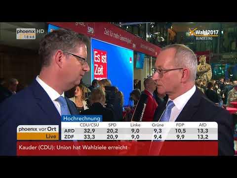 Bundestagswahl 2017: Thorsten Schäfer-Gümbel gibt Interview am 24.09.2017