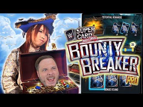 KAIRI SANE BOUNTY BREAKER PRO PACK OPENING!! BIG LUCK!   WWE SuperCard