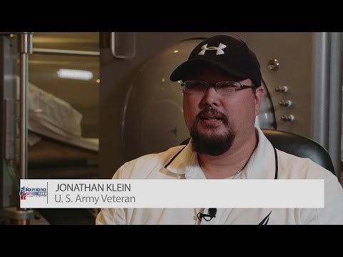 Army Veteran Jonathan Klein | Independence Fund Center For Hyperbarics & Wellness