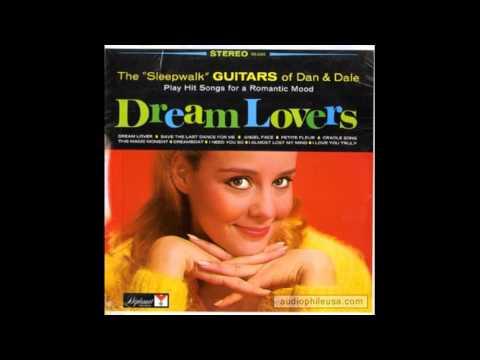 """The """"Sleepwalk"""" Guitars Of Dan & Dale – Dream Lovers - full vinyl album"""