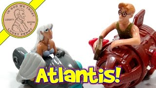 Disney's Atlantis The Lost Empire, 2001 McDonald's Retro Happy Meal Set