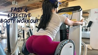 FAST & EFFECTIVE BOOTY WORKOUT | FAVORITE CHEAT MEAL| DAY VLOG