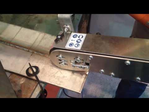 Гриндер GRIT GHB, снятие усиления сварного шва. Нержавеющая сталь.