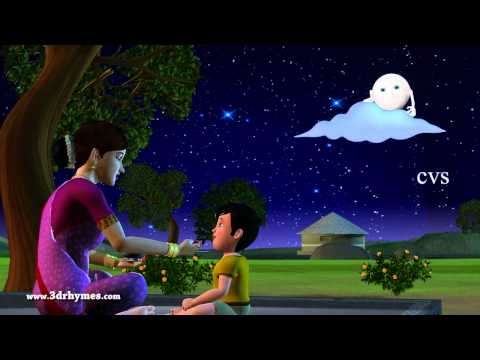 Nila Nila Odi Vaa - 3D Animation Tamil Rhymes for children with lyrics Travel Video